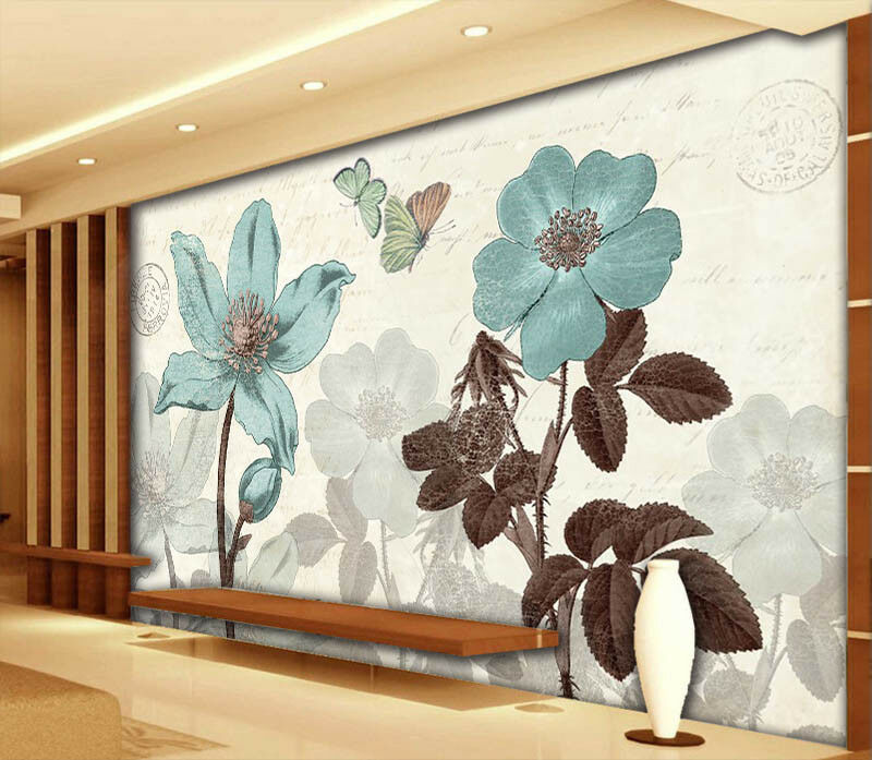 Monthly Rose 3D Full Wall Mural Photo Wallpaper Printing Home Kids Decoration