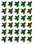 30 X HOLLY /& BERRY LEAVES EDIBLE CUPCAKE CAKE TOPPERS D4 CHRISTMAS