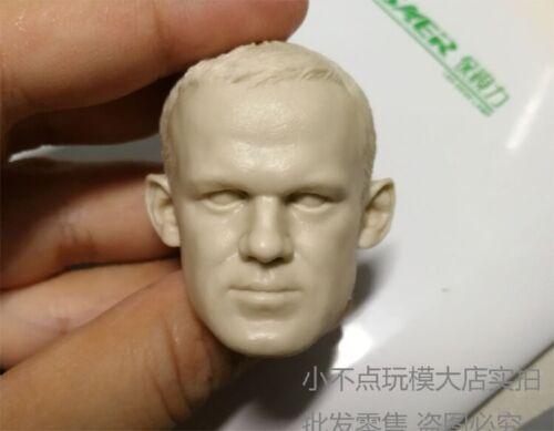 1//6 Scale PVC Unpainted Man Head Sculpt Wayne Rooney Head Carving F 12/'/' Model