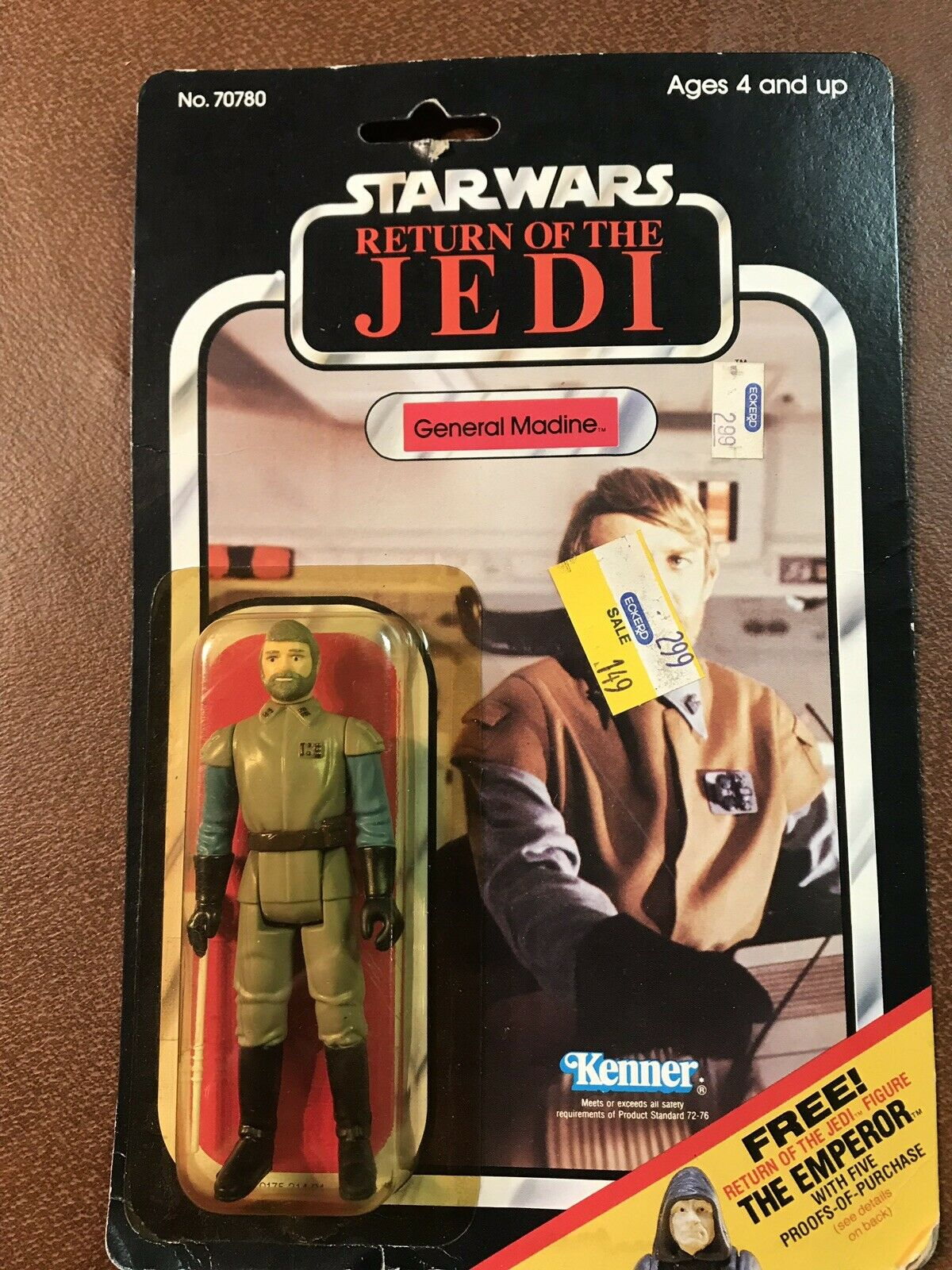 Vintage Star Wars General Madine