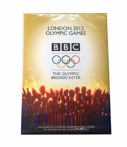 London-2012-Olympic-Games-DVD-2012-5-Disc-Set-New-Sealed-BBC-Free-Postage