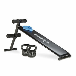 Sit-Up-Bank-Bauchtrainer-Bauchmuskeltrainer-Rueckentrainer-Trainingsank-Fitness