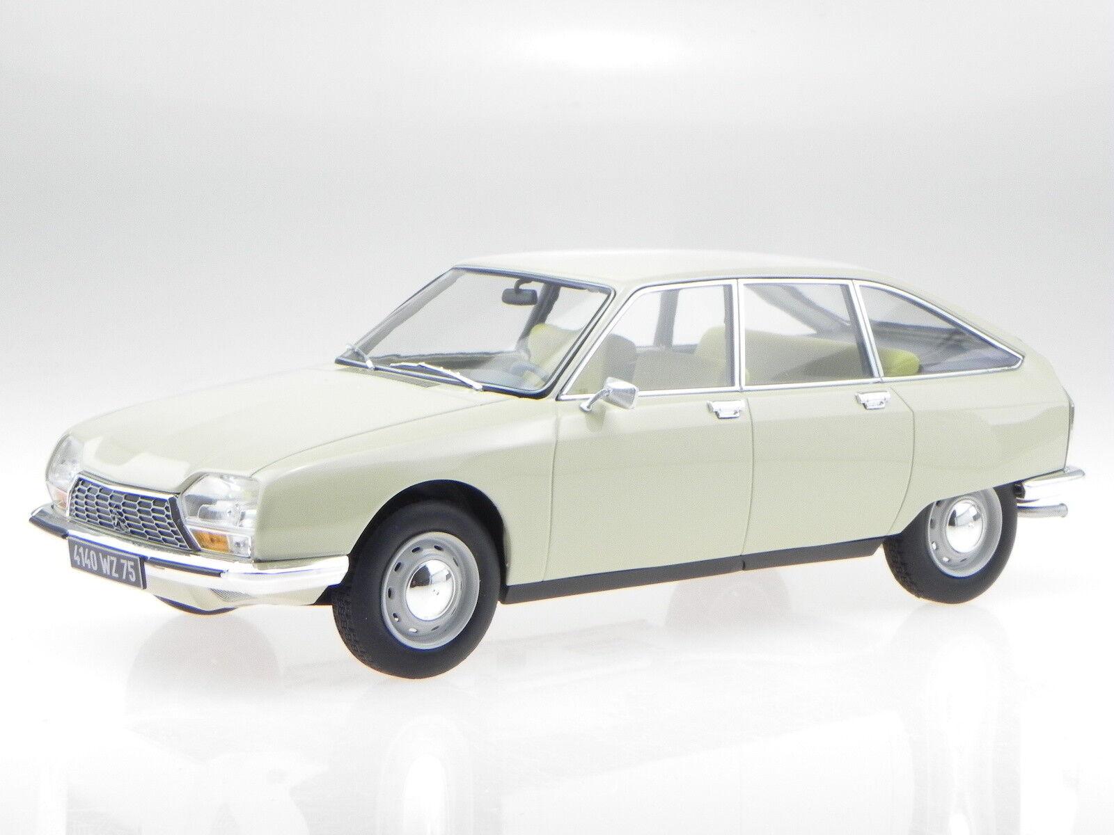 Citroen GS 1971 Erable Beige véhicule miniature 181623 Norev 1 18