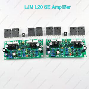 Pair-LJM-L20-SE-Amplifier-A1943-C5200-200W-Hifi-Audio-Stereo-Amplifier-Class-AB
