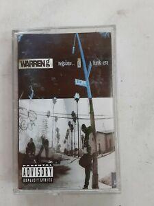 WARREN G Regulate... G Funk Era TAPE Cassette 1994 Gangsta RAP Hip-Hop Dr. Dre