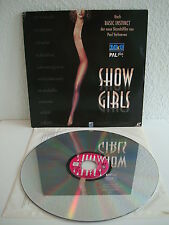 Showgirls | Laserdisc PAL Deutsch | LD: Fast wie Neu | Cover: Gut-SGT