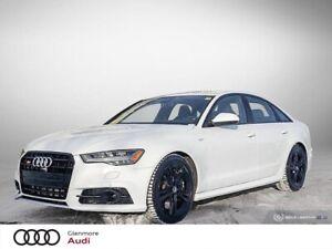 2016 Audi S6 4.0T quattro 7sp S tronic AUTO SHOW PRICING
