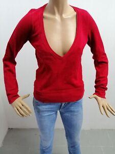 Maglione-GAS-Donna-Taglia-Size-S-Sweater-Woman-Veste-Femme-Cotone-P6446