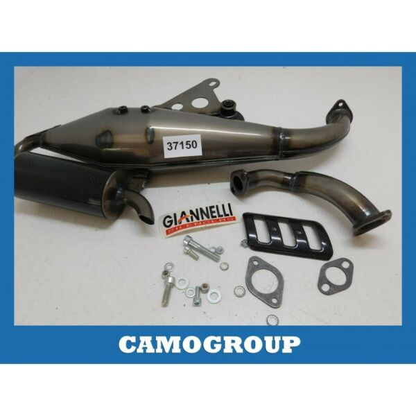 100% Waar Marmitta Scarico Exhaust Giannelli Aprilia Sr 31004s