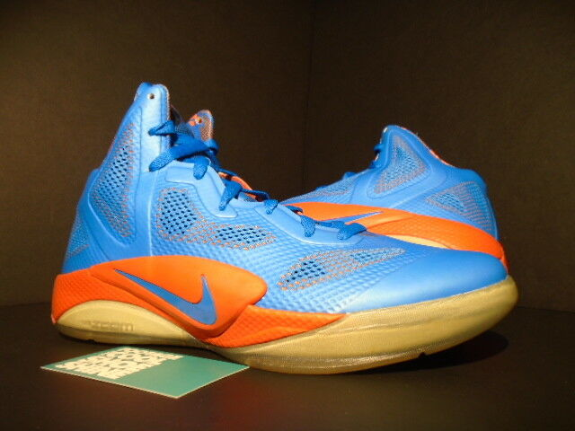 Nike zoom 2011 hyperfuse 2011 zoom pe russell westbrook foto blau - orange 487424-400 9,5 72f553