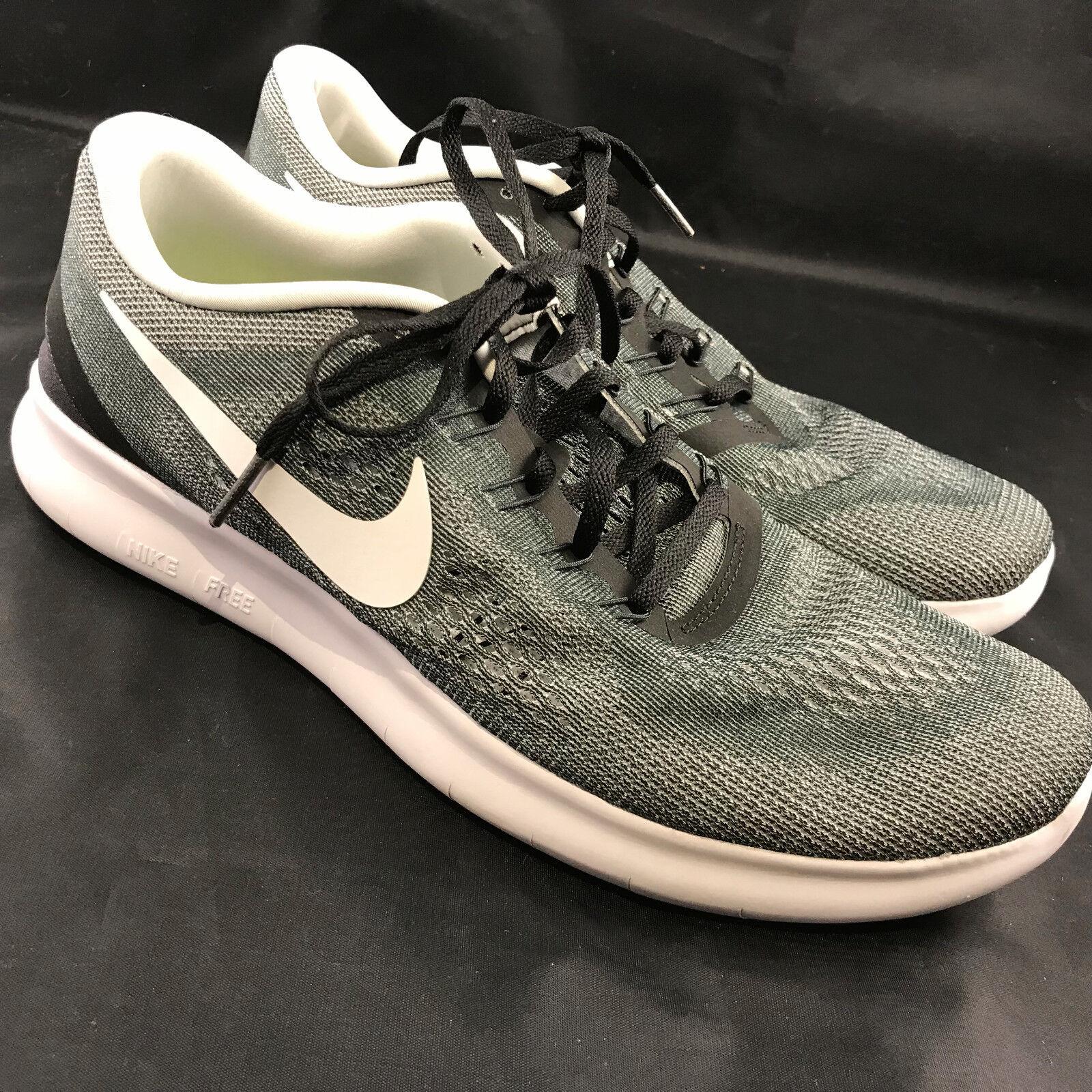 Nike libera rn Uomo verde taglia 10 grigio - verde Uomo eccellente condizione bdd7e7