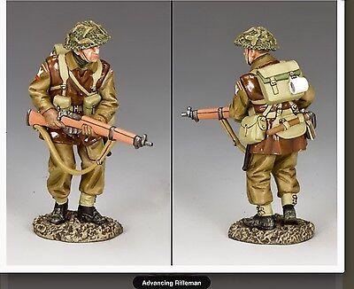 Battle Of Bulge Ww2 British Advancing Rifleman Bbb06 Bbb006
