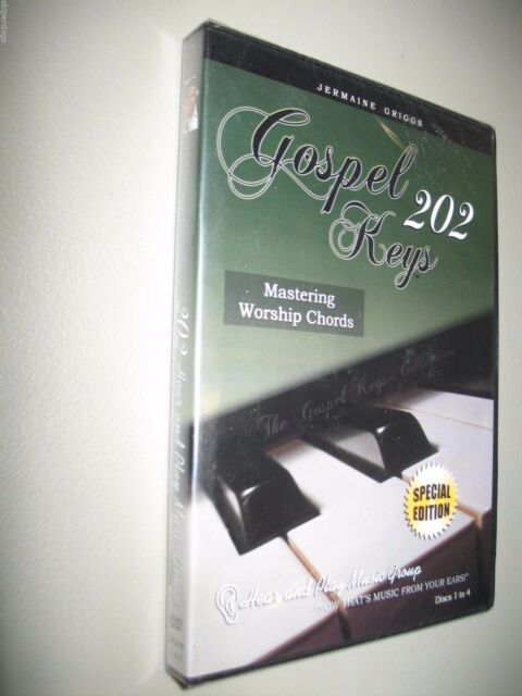 Gospel Keys 202 Special Edition Mastering Worship Chords 4 Dvd Set