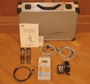 Wika-Tronic-Line-Field-Service-Instrument-909-40-500-w-Pressure-Transmitters