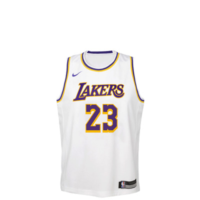 more photos 6b85e a56ae Nike NBA Lakers Swingman Jersey Lebron Kids White Basketball 2019 -  EZ2B7BZ1P | eBay