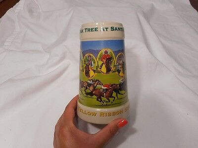 1999 Oak Tree At Santa Anita Yellow Ribbon Stakes Beer Mug