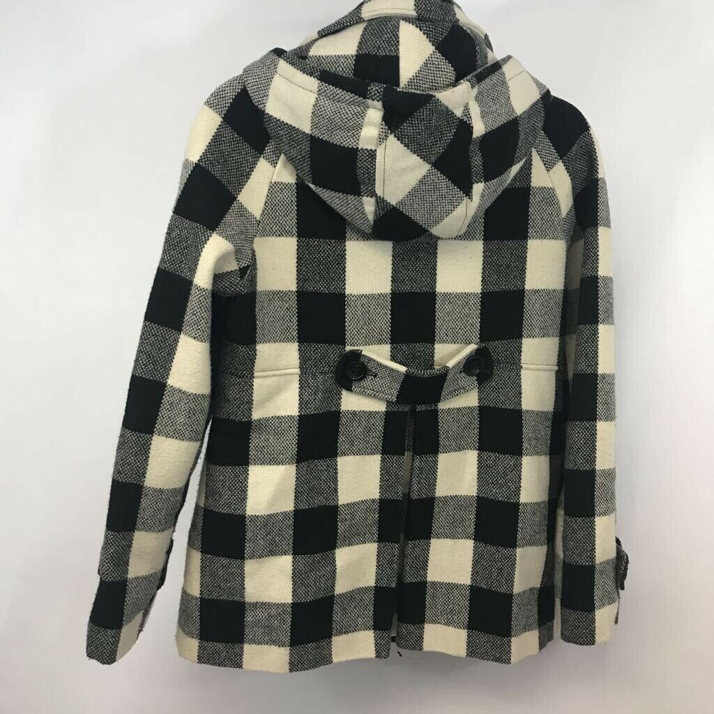 American Rag youth Duffel coat black/ white Buffa… - image 4