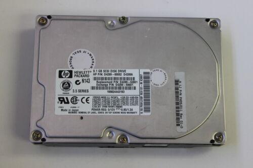 HP D4289A D4289-60002 3.5 9.1GB 80 PIN SCSI HARD DRIVE D4289-63001 9100J 9.1J