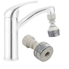 Large Eco Water Saving Kitchen Tap Faucet Aerator 360° Swivel Adjustable Nozzle