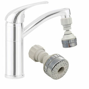 Large Eco Water Saving Kitchen Tap Faucet Aerator 360 Swivel