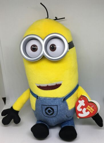 Ty Beanie Baby Babies TIM the Minions Despicable Me 3 Movie 7 Inch NEW