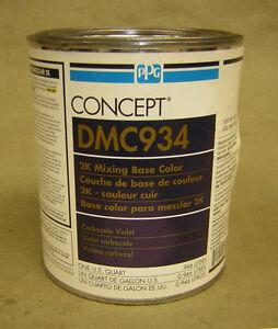 Ppg ditzler dmc934 qt carbozole violet mixing toner for Ppg automotive paint store
