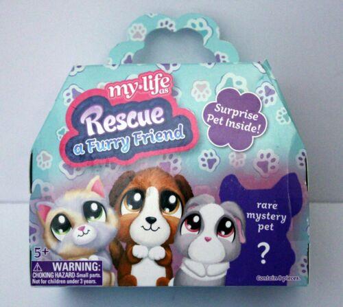 My Life as Rescue a Furry Friend Surprise Pet Inside NIB