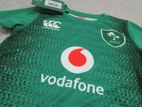 3-4 Years Canterbury Ireland Rugby Home infant kit 2018//19 Size