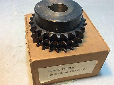 Sprocket D50B16 16 Teeth 2 Strand 1-3//16 Bore 11//16 Pitch 3.4 OD 2.48 Hub #63055