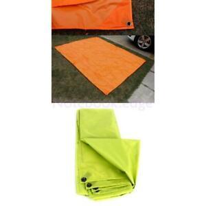6.9/' x 4.9/' Army Green Durable Beach Camping Tent Footprint Tarp Groundsheet