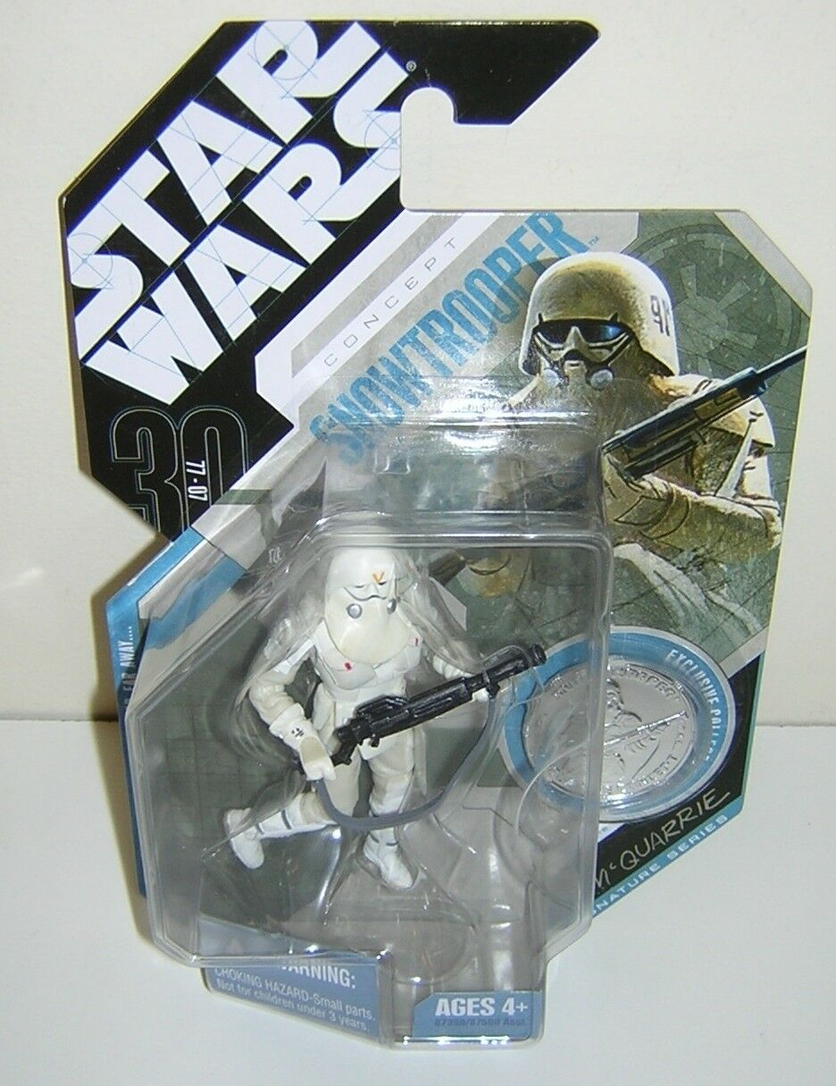 Star Wars 30th Anniversary TAC Concept Snowtrooper McQuarrie
