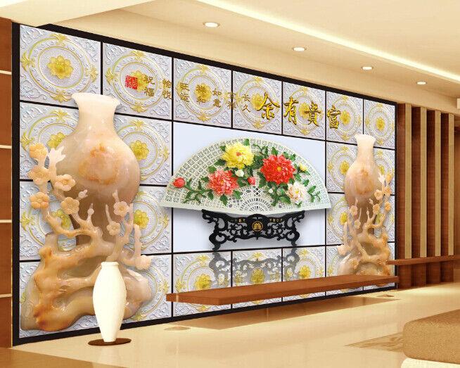3D Kunst Blumenmuster 588 Tapete Tapeten Mauer Foto Familie Tapete Wandgemälde