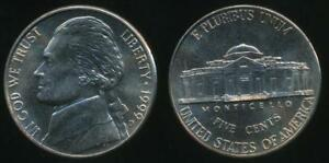 United-States-1999-D-5-Cents-Jefferson-Nickel-Uncirculated