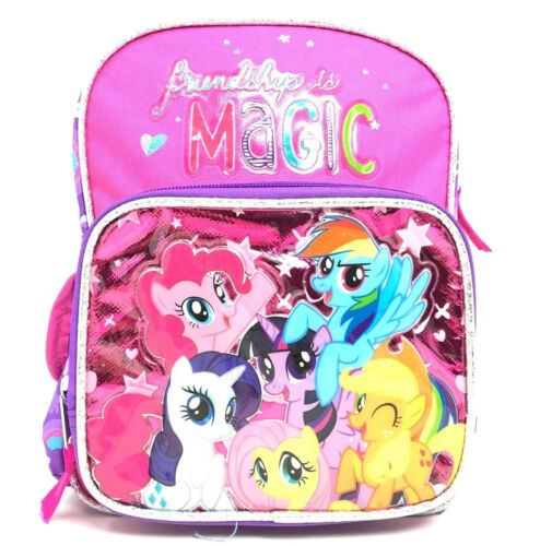 "10/"" New My Little Pony Friendships Is Magic Mini 10 Inches Backpack"