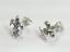 thumbnail 2 - Fleur De Lis Stud Post Earrings 925 Sterling Silver
