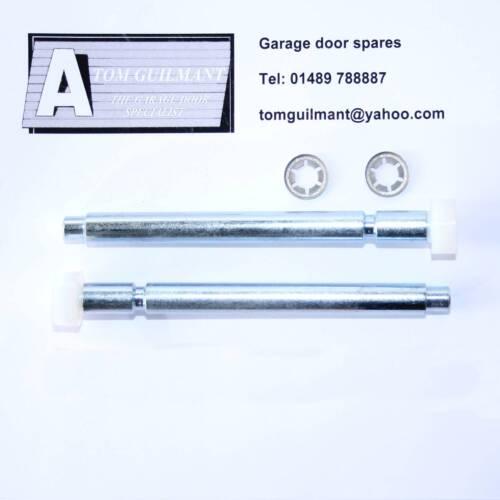 B /& Q porte de garage long rouleau broches adaptées à Bois /& grp portes avec cardale gear