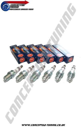 Set 6 x Uprated NGK Iridium Spark Plugs For R32 GTR Skyline RB26DETT HR6
