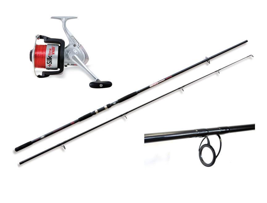 Lineaeffe Wild Spod Rod & reel Combo with line - carp specimen fishing