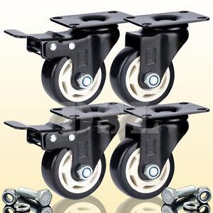 Dsl heavy duty 75mm pu swivel castor wheel 400kg trolley - Muebles castor ...