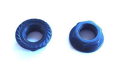 2 Bottom Bracket Axle Nuts BB Nut