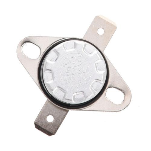KSD301 AC 250V 10A 125 Celsius NC Temperaturregelung Schalter N6E9 OE