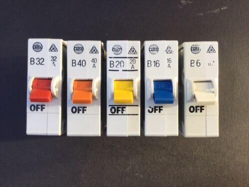 Wylex B10 Plug In MCB