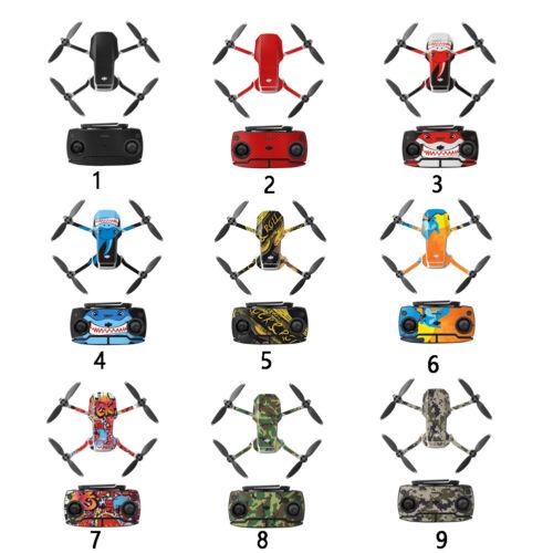 Waterproof Decal PVC Skin Wrap Decorative Stickers for DJI Mavic Mini Drone