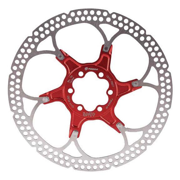 Formula Alloy Carrier Mountain Bike MTB Disc redor - 6-bolt - 140mm - Red