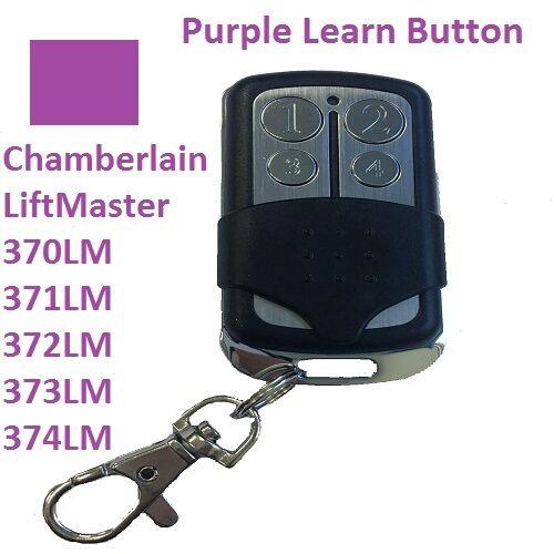 Control Up to 3 Garage Doors Purple Learn Button Purple Learn Button Keypad for Liftmaster Garage Door Opener Keyless Entry 377LM
