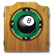 8-Ball Dart Cabinet - Includes Board and Darts