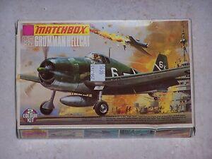 Maquette-MATCHBOX-1-72eme-GRUMMAN-HELLCAT-PK-18-1973