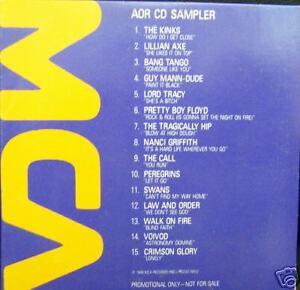 The-Call-Voivod-The-Kinks-Tragically-Hip-MCA-1989-Rock-Promo-CD-Sampler