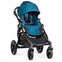 Baby Jogger 2015 City Select Stroller - Teal (black Frame) - Free Shipping
