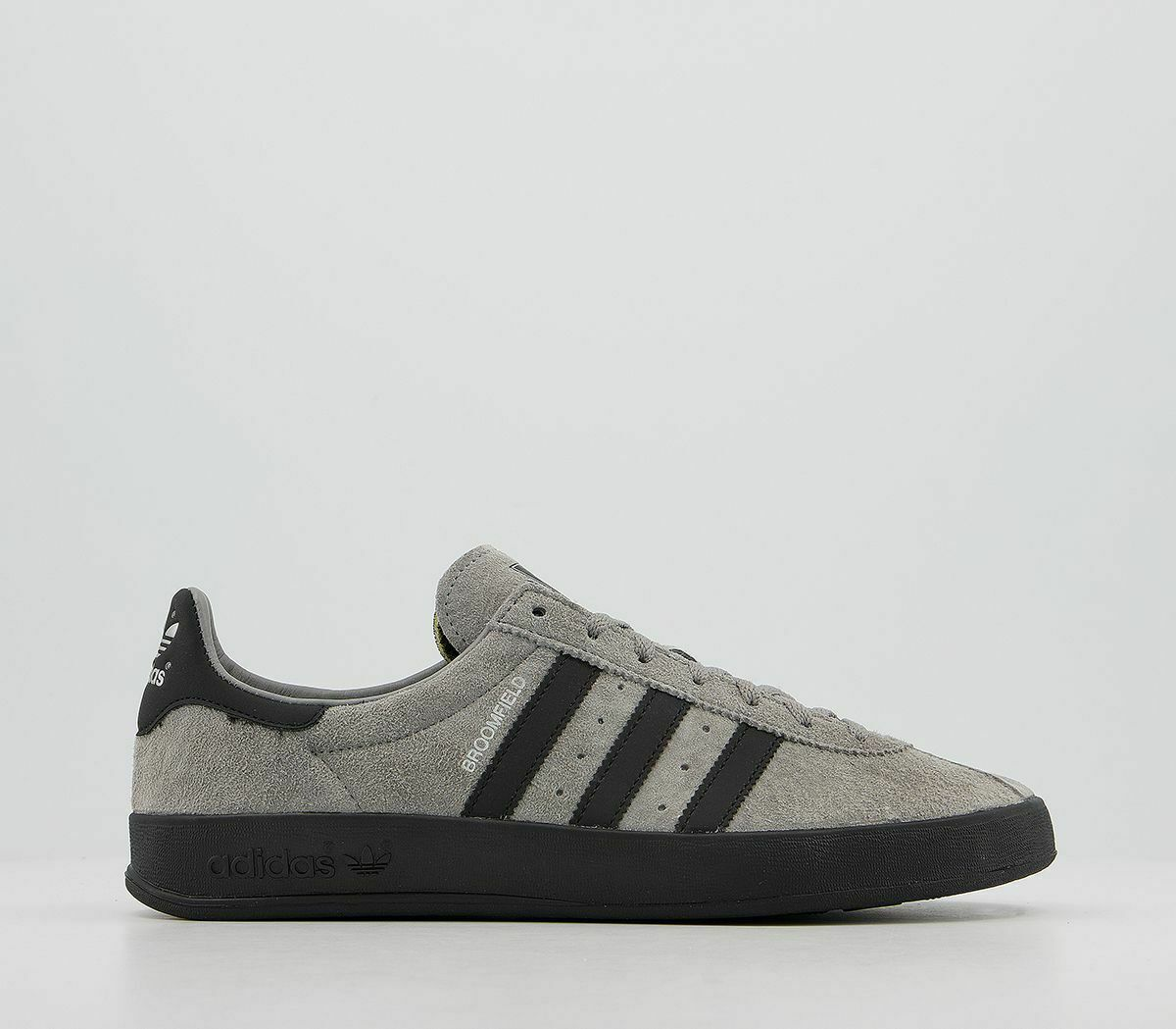 Adidas Broomfield Trainers Solid Grey Black Trainers Shoes